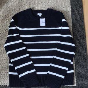 J Crew Women's Nautical Striped Sweater